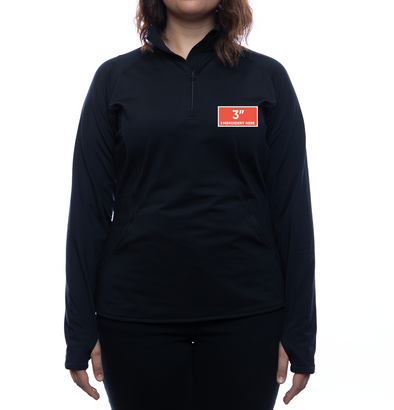 FOC Logo 1/2 Zip Pullover (Women's Fit)