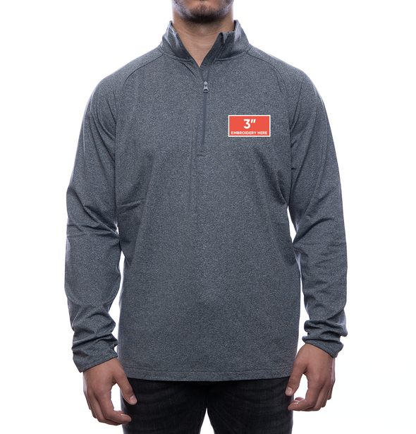 FOC Logo 1/2 Zip Pullover (Men's Fit)