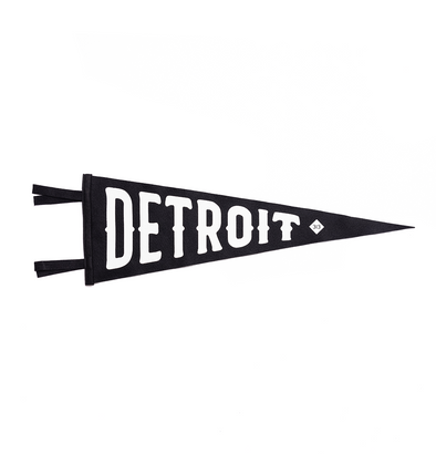Detroit Oxford Pennant