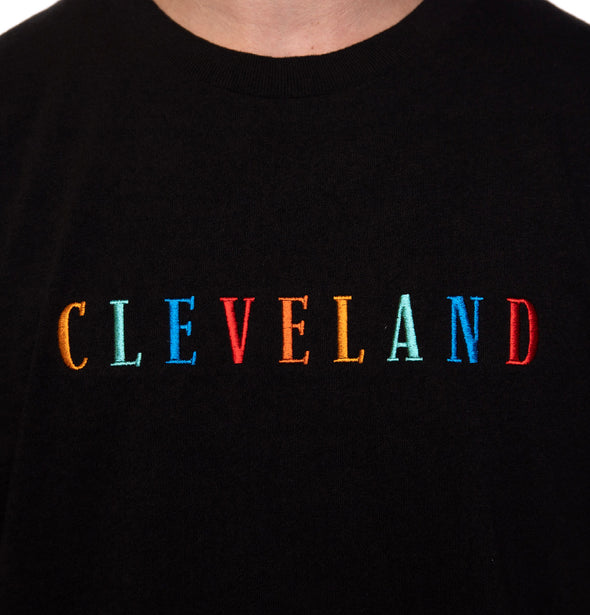 Embroidered Cleveland Vintage Fit Tee