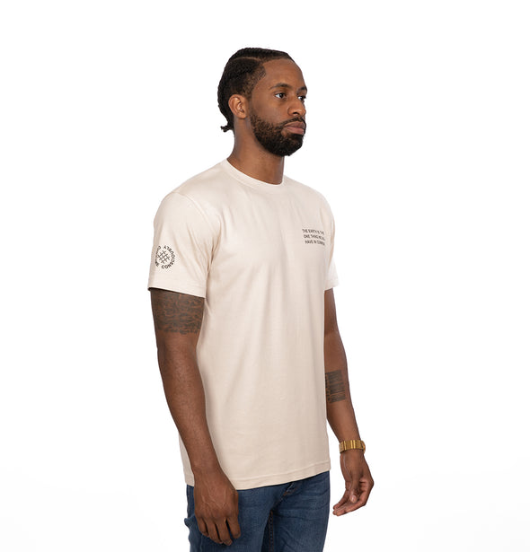 Gettees Model Tee | Sand