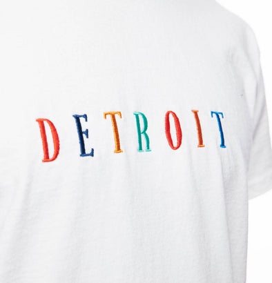 Embroidered Detroit Vintage Fit Tee