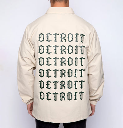 Detroit Coaches Jacket