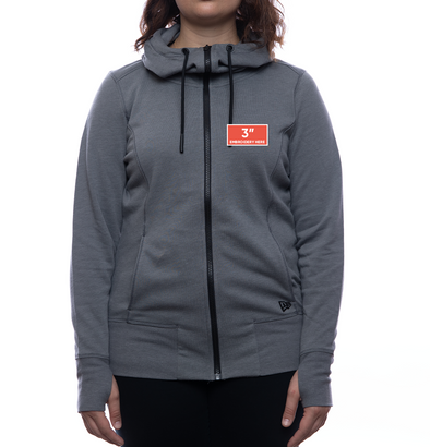 New Era FOC Logo Zip-Up Hoodie (Women's Fit)