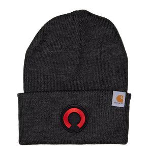 Carhartt Rocket O Beanie | Black/Red