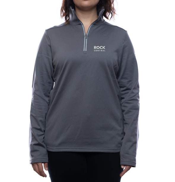 Rock Central Under Armour Qualifier 1/4 Zip Pullover (Women's Fit)