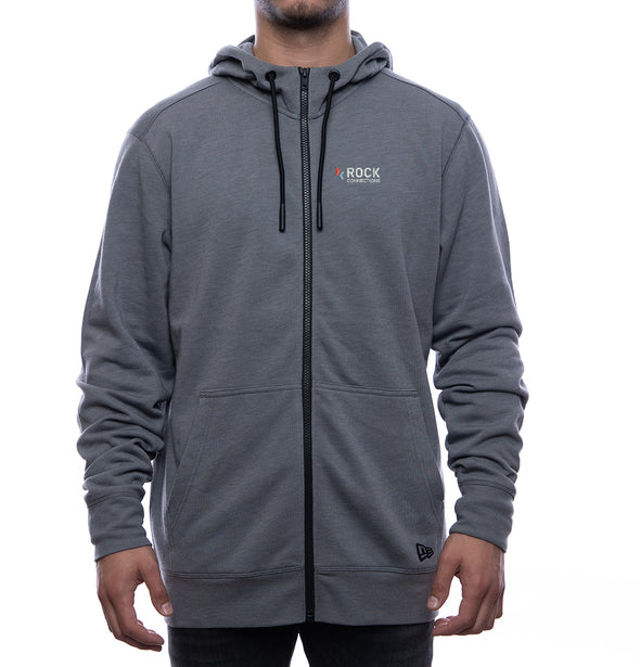 Rock Connections New Era Logo Zip-Up Hoodie (Men's Fit)