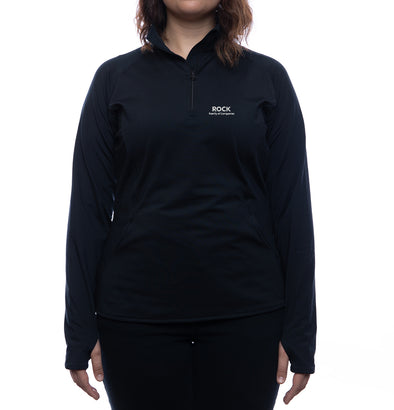 Rock Family of Companies 1/2 Zip Pullover (Women's Fit)