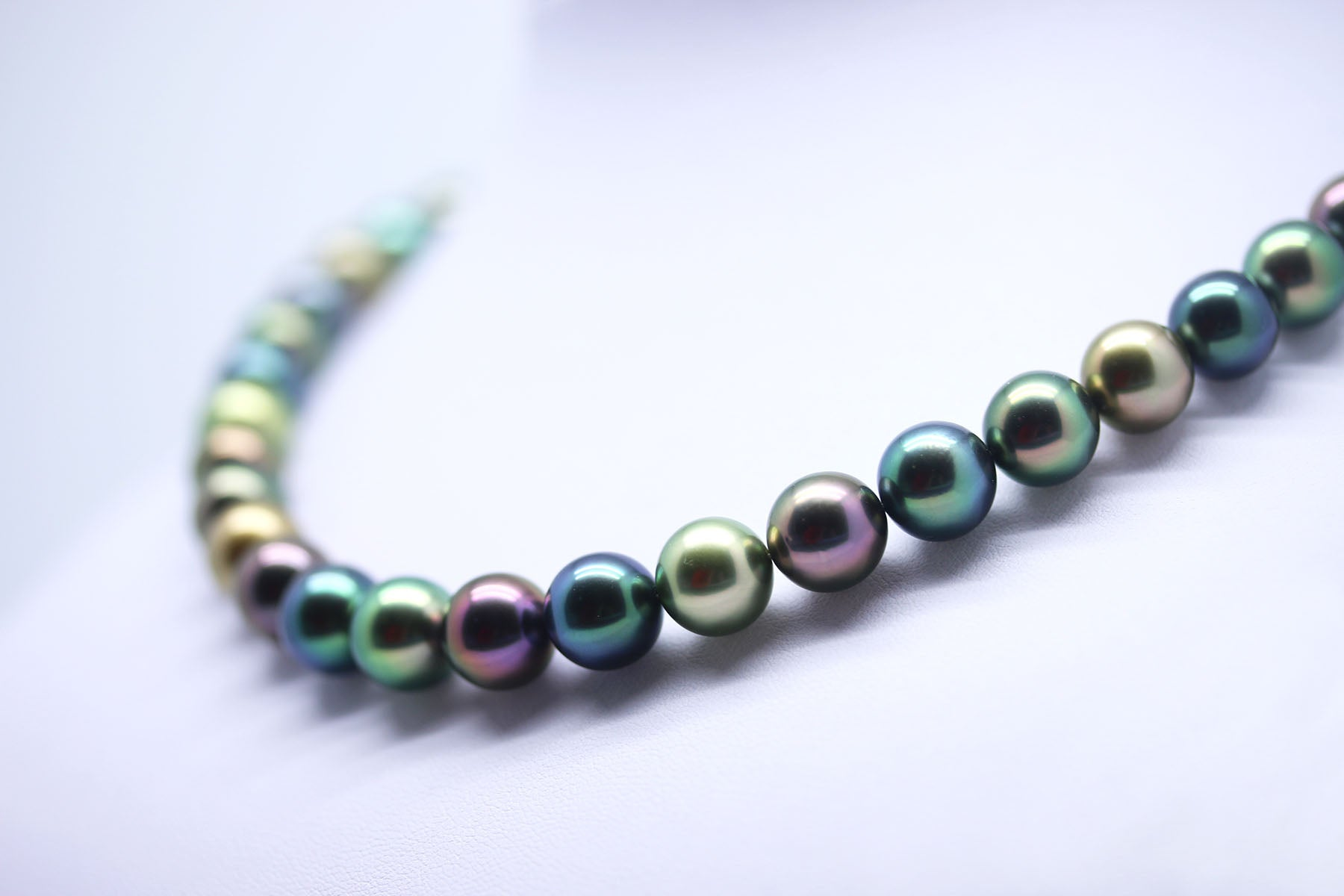 Different Tahitian Black Pearl Colors
