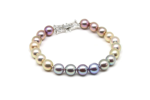Freshwater Rainbow Heirloom Bracelet-Kyllonen