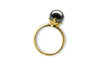 Queen Black Pearl Ring-Kyllonen