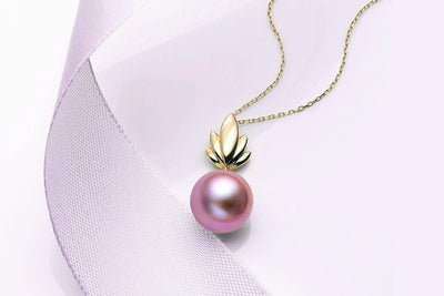 Bloom Colored Freshwater Pearl Pendant-Kyllonen
