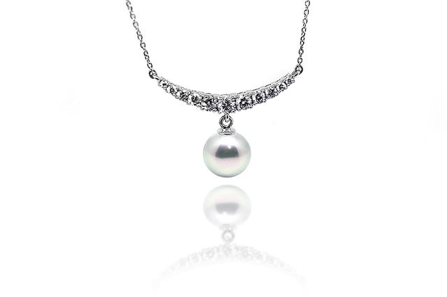 Fortune Silver Akoya Necklace-Kyllonen