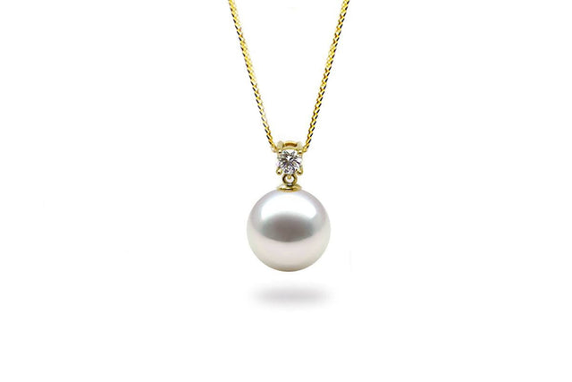 Diamond and A Dangling Pearl: White South Sea-Kyllonen