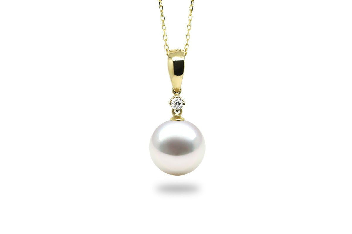 Element White South Sea Pearl Pendant-Kyllonen