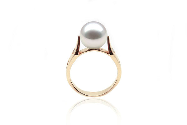 Spade South Sea White Ring-Kyllonen