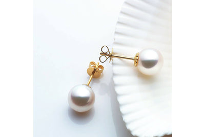 Akoya Pearl Earrings Scene - Kyllonen