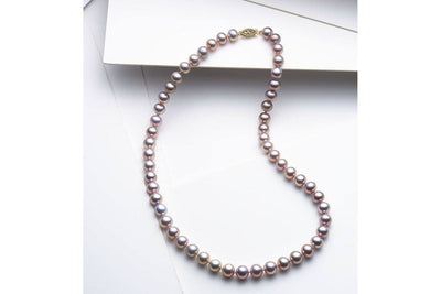 Color Freshwater Pearl Strand-Kyllonen