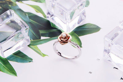 Flower Diamond Ring-Kyllonen