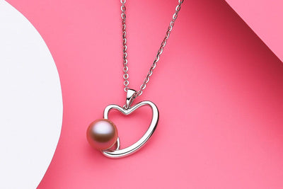 Cuddle Freshwater Pearl Silver Pendant