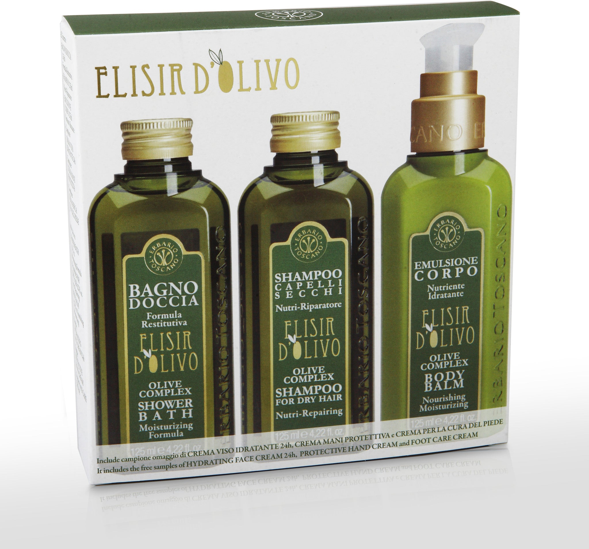 Olive Oil Shower Set
