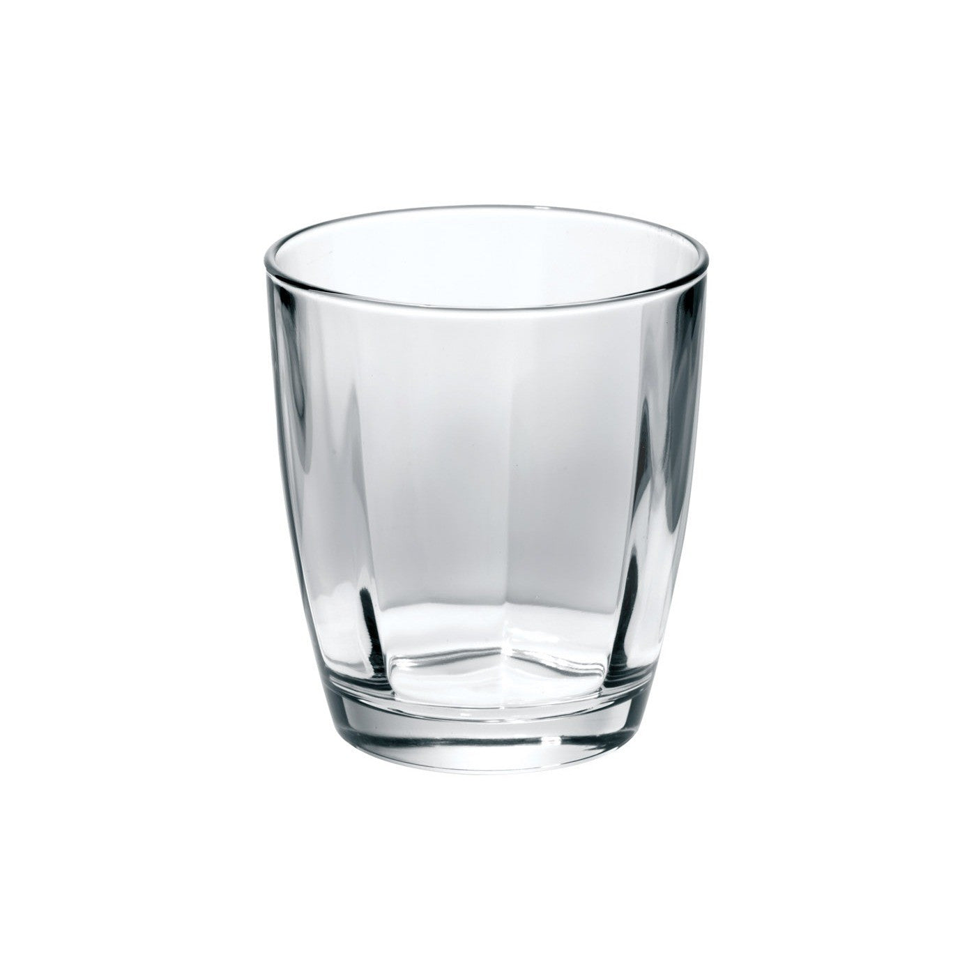 Optical Smoke Gray Double Old Fashioned Glass