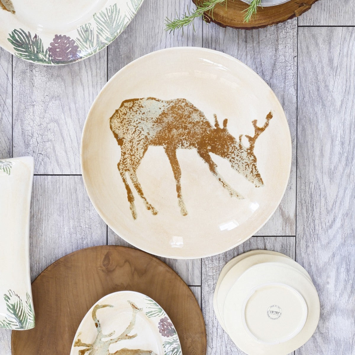Foresta Deer Medium Bowl