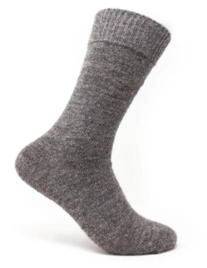Luxury Homegrown Alpaca Everyday Socks