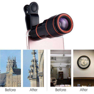 HD12X Zoom Lens - Vibe Plaza FREE Shipping Flash Sale Limited Stock
