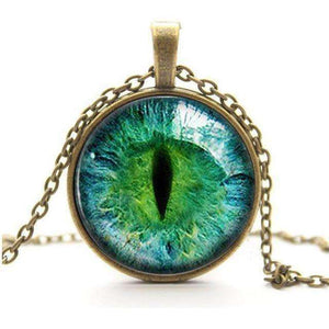 Cat Eye Necklace - Vibe Plaza FREE Shipping Flash Sale Limited Stock