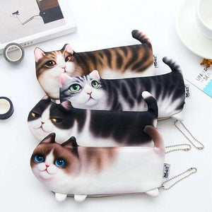 Cute Cat Pencil Case - Vibe Plaza FREE Shipping Flash Sale Limited Stock