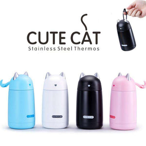 Cute Cat Stainless Steel Thermos - Vibe Plaza FREE Shipping Flash Sale Limited Stock