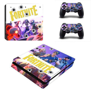 Fortnite PS4 Slim Skin Pack - Vibe Plaza FREE Shipping Flash Sale Limited Stock