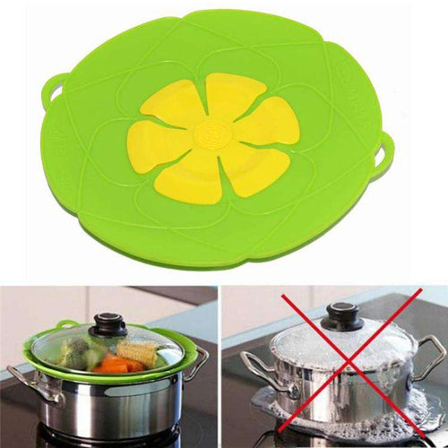 Spill Stopper Silicone Lid Cover - Vibe Plaza FREE Shipping Flash Sale Limited Stock