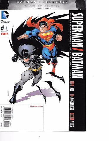 "Batman V Superman ""Dawn of Justice"" #1"