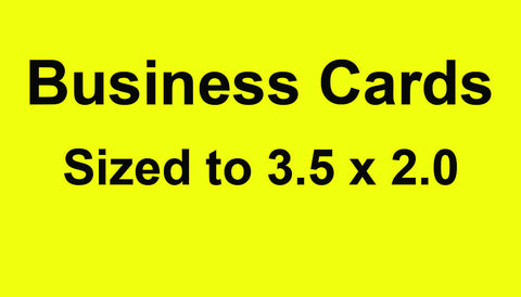 Business Cards 2500 Business Cards Full Color Both Sides UV Gloss Coated Front Side