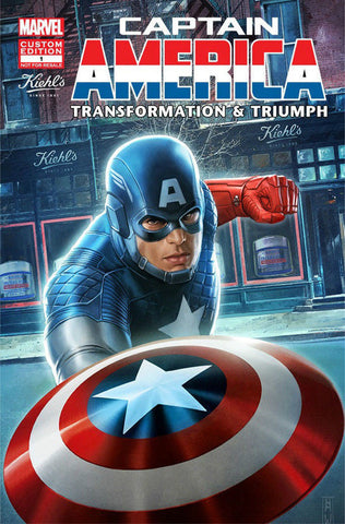 Captain America Transformation & Triumph #1 Promo Variant