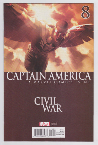 "Captain America ""A Marvel Comics Event Civil War"" #8 Variant"