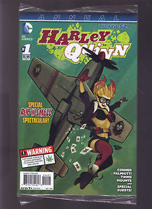 Harley Quinn The New 52! Annual Special Run 'N Smell Plane  #21