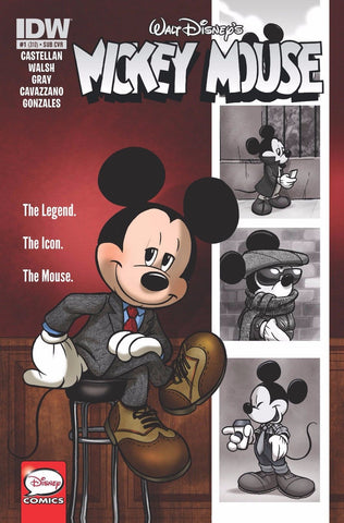 Walt Disney's Mickey Mouse #1 1st Print Subscription Cover