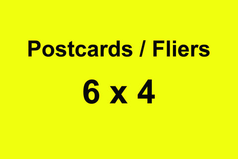 Post Cards 250 4 X 6 Post Cards Full Color Both Sides UV Gloss Coated Front Side