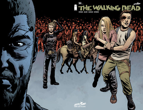 The Walking Dead #144 SDCC Exclusive Variant Cover
