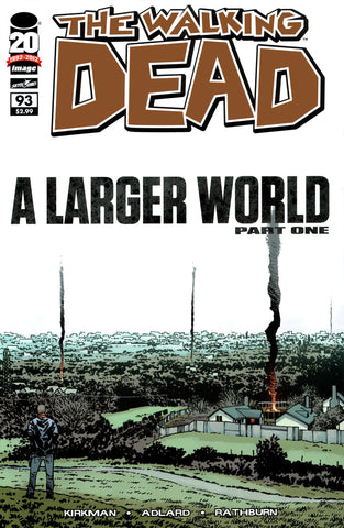 The Walking Dead #93 A Larger World Part One