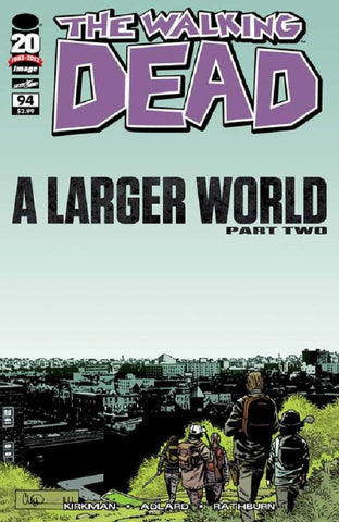 The Walking Dead #94 A Larger World Part Two