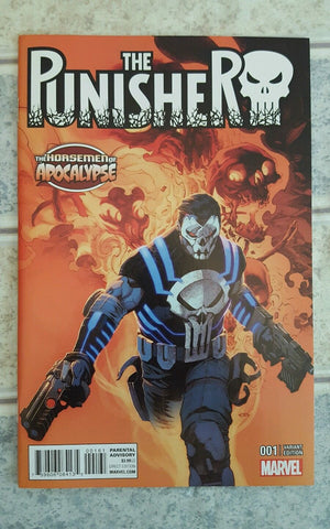 "The Punisher ""The Horsemen of Apocalypse"" #001 Variant"