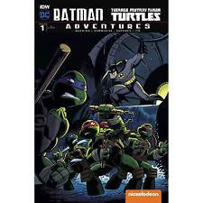 Batman Teenage Mutant Ninja Turtles Adventures 1 Hilary Barta 1:10 RI Variant DC