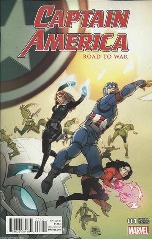 "Captain America ""Road To War"" #001 Variant"