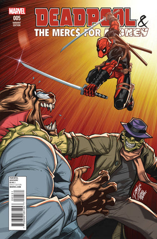Deadpool & The Mercs For Money #005 Variant