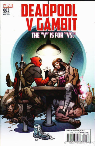 "Deadpool V Gambit The ""V"" Is For ""VS."" #003 Variant"