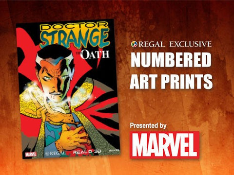 "Doctor Strange - 13""x19"" Marvel Art Print (The Oath)"